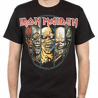Iron Maiden Eddie Evolution Heavy Metal Classic Rock Music T Tee Shirt S-2Xl