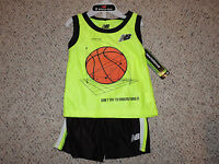 Infant Boys New Balance 12 Months Mos 2 Piece Shorts Tank Top Basketball Outfit