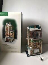 Department 56 Christmas in the City 'The University Club'
