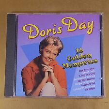 DORIS DAY - 16 GOLDEN MEMORIES - 1989 - OTTIMO CD [AR-178]