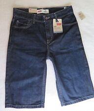Levi's Boys' 505 Regular Fit Denim Blue Shorts Size 16 REG W28'' NWT MSRP$42.00