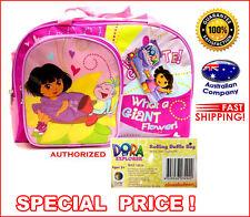 Cartoon Backpack pink DORA NEW colourful trendy shoulder bag school kids #4922