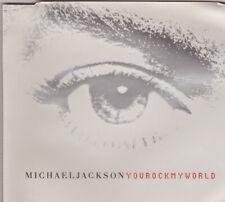 Michael Jackson You Rock My World UK CD Single