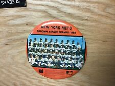 1969 New York Mets National League Champs Team Photo 6 Inch Button