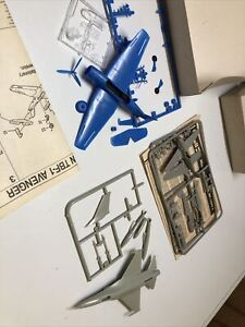 1/144 Scale TBF Avenger, Bf 109 And F-16 STARTED