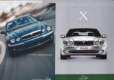 2001 JAGUAR X-TYPE Introductory Brochure 14p 2.5 & 3.0 V6 SE Sport