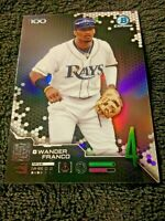 WANDER FRANCO Tampa Bay Rays 2019 Topps Bowman Chrome Top 100 Prospects #BTP-4