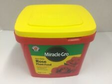 Miracle-Gro Rose Plant Food Water Soluble 3.75 lbs (NEW)
