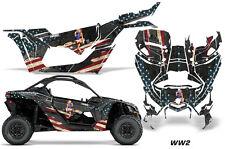 AMR Racing Can Am Maverick X3 Full Graphic Kit Wrap Sticker Parts 2016 + WW2