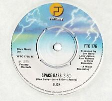 "Slick - Space Bass 7"" Single 1979"