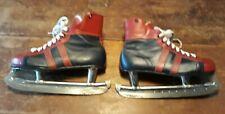 Vintage Derek Sanderson Ice Hockey Skates Franklin Size 10