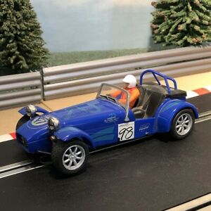 Scalextric 1:32 Car - C2212 Blue Caterham Super 7 #98 #A
