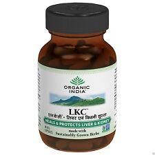 Liver Kidney Care (LKC)120 Veg Caps.by ORGANIC INDIA for liver & kidney disorder