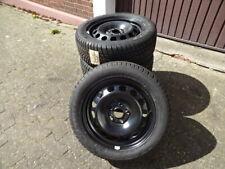 Dunlop Winterreifen 205/55R16 94H Original Stahlfelgen VW Golf VII DOT14 8mm 20