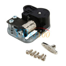 1Pcs Wind Up Musical Movements Part With Screws Winder Fur Elise Music Box DIY
