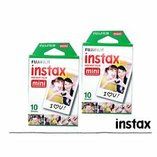 Fujifilm Instax White Film 20pcs For Fuji Mini 90 8 25 70 Instant Camera SP-1 US