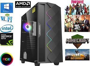 Gaming Computer PC AMD Ryzen 3100, 8GB RAM, 240GB SSD, GTX 4gb 1650