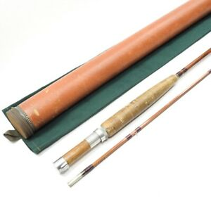 """Orvis Impregnated """"99"""" Bamboo Fly Fishing Rod. 8' 6"""". 2/1."""