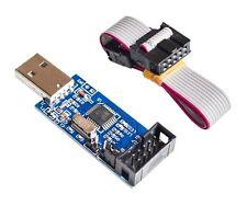 USBASP USBISP AVR 51 Programmer Adapter mit 10 Pin Kabel ATMega ATTiny ATMEGA128