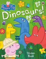 Peppa Pig: Dinosaurs! Sticker Book by Peppa Pig 9780241371527 | Brand New