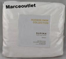 Hudson Park 680 Thread Count Supima Cotton Sateen QUEEN Bedskirt White