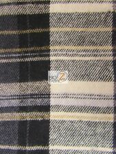 TARTAN PLAID UNIFORM APPAREL SHIRTS PAJAMAS FLANNEL FABRIC BY THE YARD CLOTHING