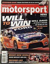 Australian Motorsport News #419 May 2012 DAVISON COULTHARD GROSJEAN DTM KUHMO V8