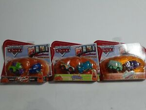 Full Collection Disney World of Cars Mini Adventures Holiday Special Set of 3
