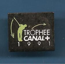 Pin's pin GOLF TROPHEE CANAL+ 1991 (ref 086)