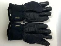 Men's Black Gore-tex Snowboarding Snow Gloves Size Small
