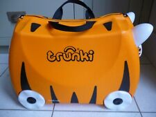 TRUNKI Tipu Tiger Ride On Suitcase Hand Luggage For Kids Excellent Condition