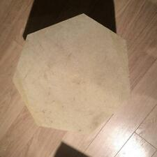 Large Heptagonal Industrial Grade Kiln shelf - 55cm Circumfrence  4CM Depth