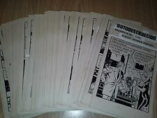 Mexican UNEXPECTED #5 ORIGINAL COMIC ART 1960s Suspense COMPLETE STORY 78 pages