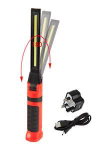 Gerlux Rechargeable Cordless COB LED Strip Slim Flexi Hand lamp A3TLFLEDF3