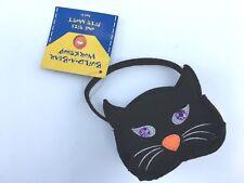 Build a Bear Teddy Bear Accessory - Halloween Black Cat Tote Purse Handbag - NEW