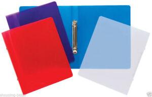Tiger A5 Slim Clearview Ringbinder Folder Filing Paper Storage Random Sent x 1