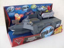base combattimento cars 2 action agents battle station vehicle playset ok W8164