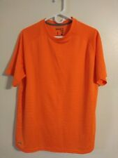 Starter Dri-Star Regular Fit Short Sleeve Dry Core Tee Athletic T-Shirt Orange L