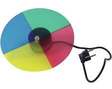 4 Farben Farbscheibe Farbrad mit Motor für Punktstrahler PIN-Spots PAR 36 NEU