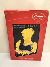 Anita Extreme Controll Sports Bra 5527 Black 34 CupG NewBoxed Rrp£60 Non Wired