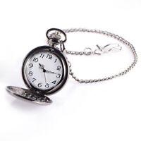 Reloj de Bolsillo Movimiento Cuarzo Esfera Redonda para Hombre T5