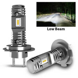Lasfit H7 LED Low Beam Headlight for Subaru Outback 2005-2014 Fanless Noiseless