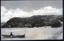 MEXICO~CHAPALA JAL.  FISHING BOAT ON LAKE ~JULIO RPPC