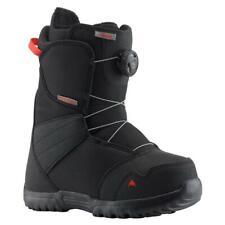 Burton Zipline Boa Junior Snowboarding Boots Black/Red UK 6 EU 39