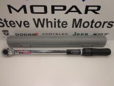"""New Gorilla Adjustable Torque Wrench 1/2"""" Drive 5"""" Extension 250lbs"""