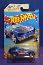 2018 Hot Wheels RISE 'N CLIMB. HW 50th RACE TEAM 8/10. Long card.
