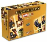 Legendary Marvel Studios Deck Building Game the First Ten Years - Phase 1 SEALED