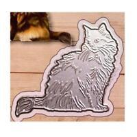 Cat  Metal Cutting Dies Stencil Scrapbooking DIY Album Stamp Paper Embossing