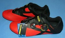 NEW  BOA Mavic Cosmic Pro Carbon Cycling Road Shoes Red/Black  size 12