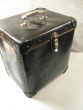 Antiker Koffer,Transportkoffer 1930.Jahre aus Vulkanfieber,Rohrplatte-Old decora